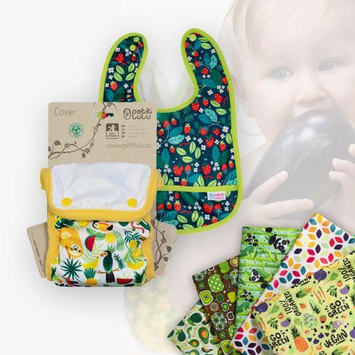 Minimal Nappies and Bibs - New Designs!
