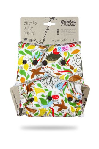 Autumn Hedgies - One Size Nappy (Snaps)