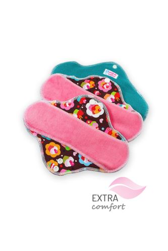 Cupcakes - Cloth pad STANDARD (SLIM)