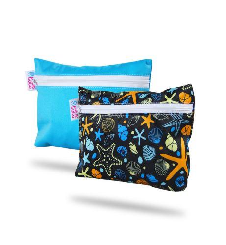 Blue, Ocean Treasures - Small Wetbag 2 Pack