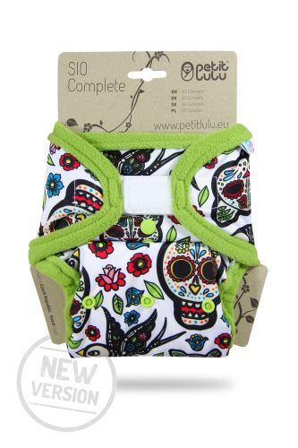 Mexican Skulls (on white) - SIO Complete (Hook & Loop) NEW VERSION