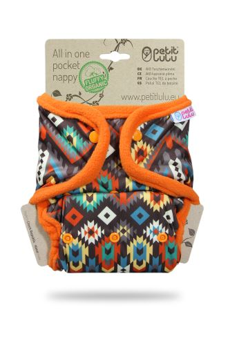 Ethno - All In One Pocket Nappy (Snaps)