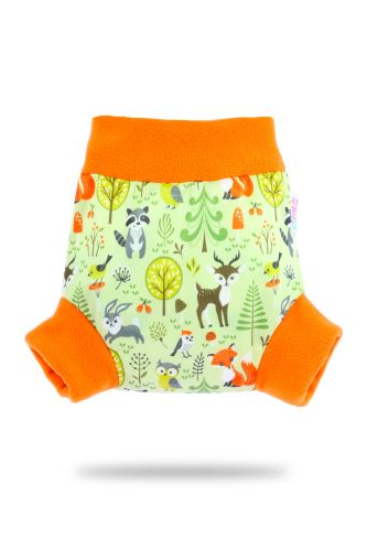 Second Quality Forest Animals - Pull-Up Cover - Small - print fault