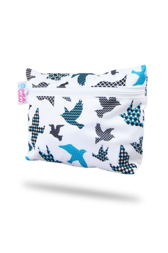 Small Wetbag - Turquoise Birds