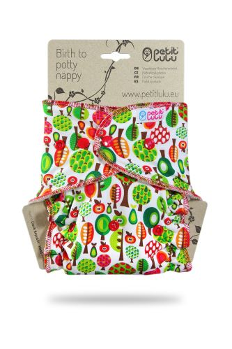Fruit Trees - One Size Nappy (Snaps)
