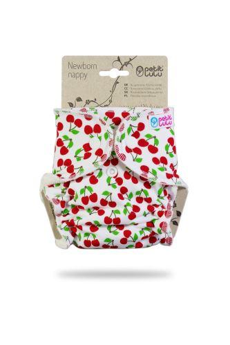 Sweet Cherries - Newborn Nappy