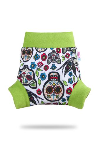 Mexican Skulls (on white) - Pull-Up Cover