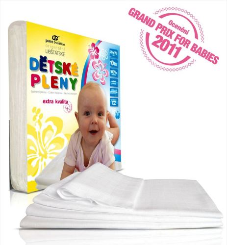 Cotton Muslin Squares 10 Pack