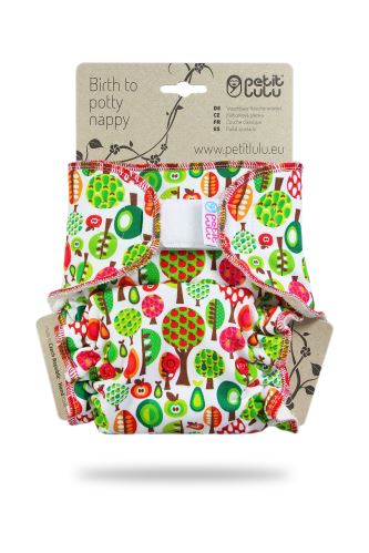 Fruit Trees - One Size Nappy (Hook & Loop)