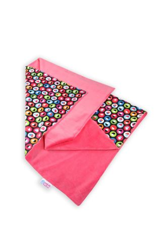Colorful Hearts (strawberry) - Changing Mat
