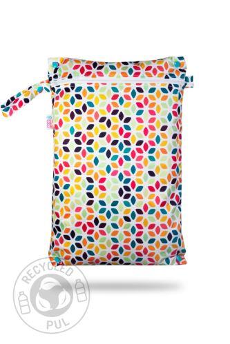 Floral Cubes - Nappy Bag