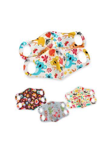 Comfort Face Mask 2 Pack size XXS - optional patterns