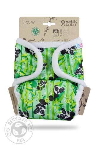 Panda Bears - One Size Prefold Cover (Snaps)
