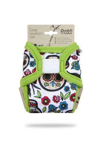 Mexican Skulls (on white) - Newborn Cover