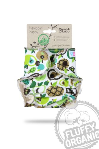 Apples (green) - Newborn Nappy