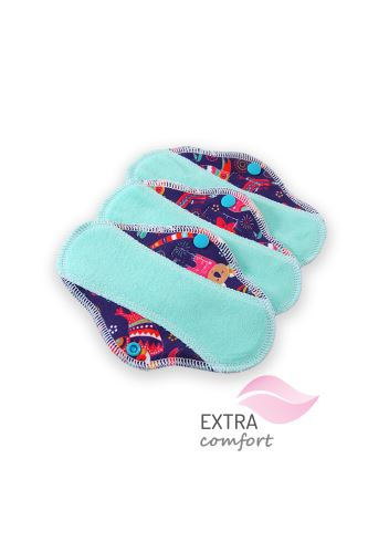 Australian Animals - Cloth pad SLIP (SLIM)
