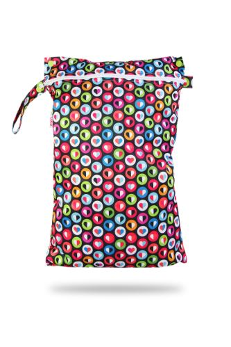 Colorful Hearts - Nappy Bag