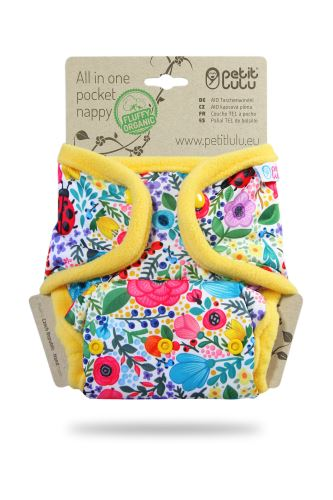 Blooming Garden - All In One Pocket Nappy (Snaps)