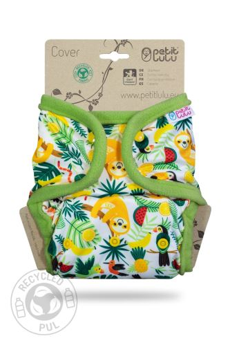 Second quality Chilling Sloth - One Size Prefold Cover (Snap) - hole by the snap