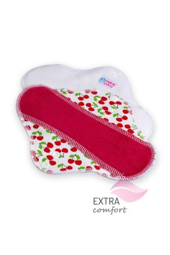 Sweet Cherries - Cloth pad STANDARD (SLIM)