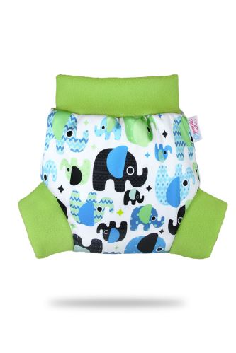 Baby Elephant (blue) - Pull-Up Cover