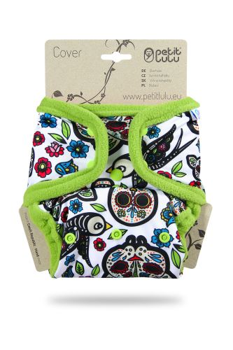 Mexican Skulls (on white) - One Size Cover (Snaps)