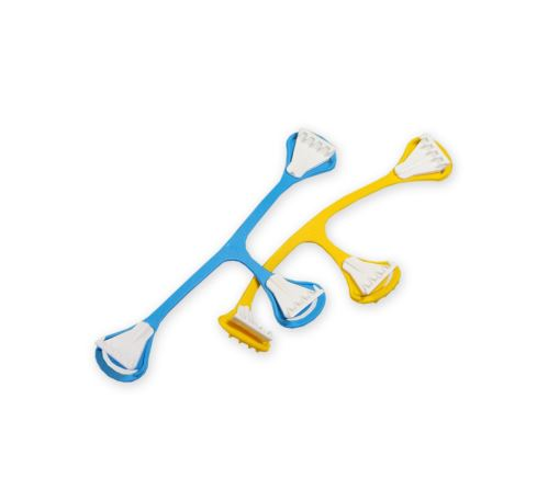 Snappi Fastener 2 Pack (Yellow, Blue)