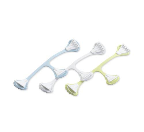 Snappi Fastener 3 Pack (Light Blue, White, Light Yellow)