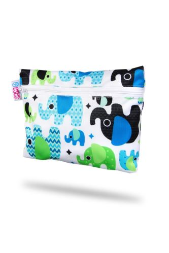Small Wetbag - Baby Elephant (blue)