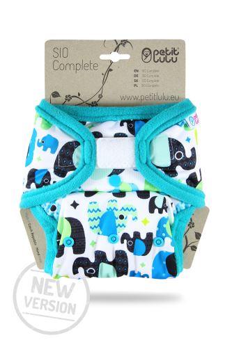Baby Elephant (blue) - SIO Complete (Hook & Loop) NEW VERSION