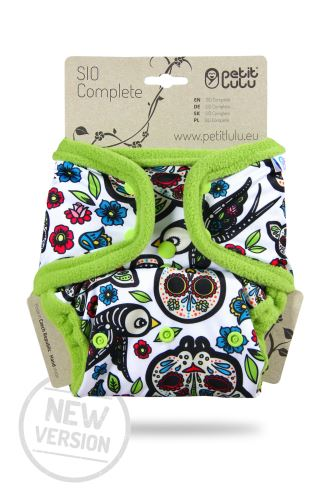 Mexican Skulls (on white) - SIO Complete (Snaps) NEW VERSION