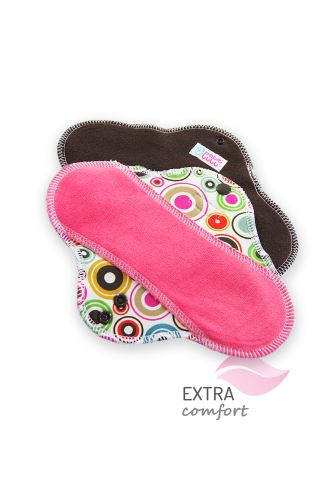 Circles - Cloth pad STANDARD (SLIM)