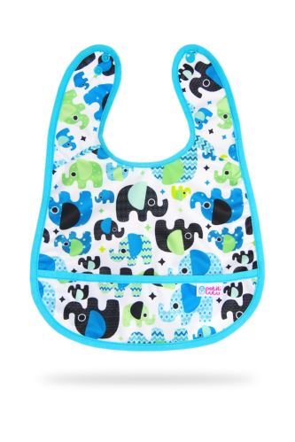 Baby Elephant (blue) - Bib