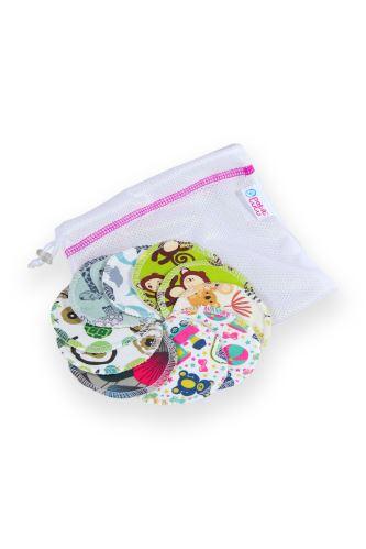 Bamboo Makeup Remover Pads 10 pcs + small laundry bag