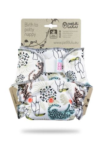 Second quality - Wilderness- One Size Nappy (Hook & Loop) - print fault