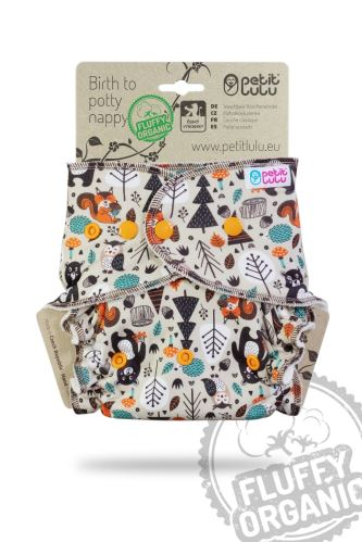 Forest Friends - One Size Nappy (Snaps)