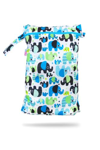 Baby Elephant (blue) - Nappy Bag