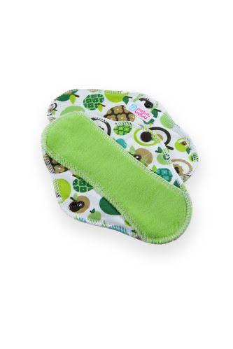 Apples (green) - Cloth pad SLIP (CLASSIC)