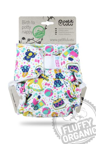 Second qualityToy Heaven - Maxi Night Nappy (Hook&Loop) - print fault