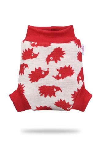 Second quality Red Hedgies - Wool Cover - Medium - woven thread