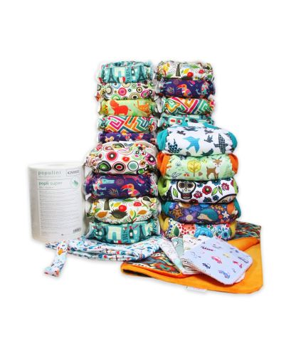 Birth To Potty Nappy Large Pack