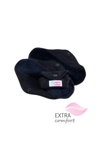 Black - Cloth pad SLIP (SLIM)