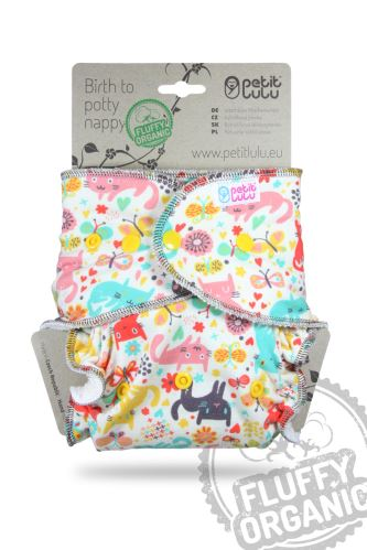 Cat Meadow - One Size Nappy (Snaps)