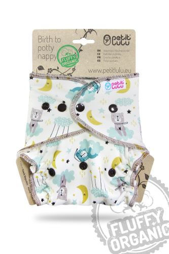 Good Night - One Size Nappy (Snaps)
