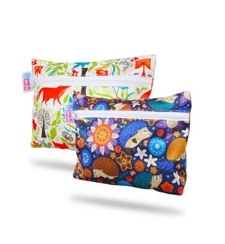 Hedgies, Foxes - Small Wetbag 2 Pack