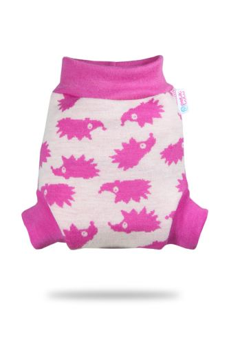 Second quality Pink Hedgeis - Wool Cover - Small - faulty print