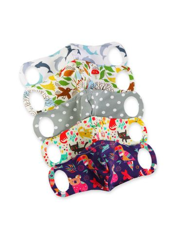 Comfort Face Mask 5 Pack size XS