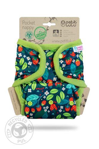 Wild Strawberries - Pocket Nappy (Snaps)