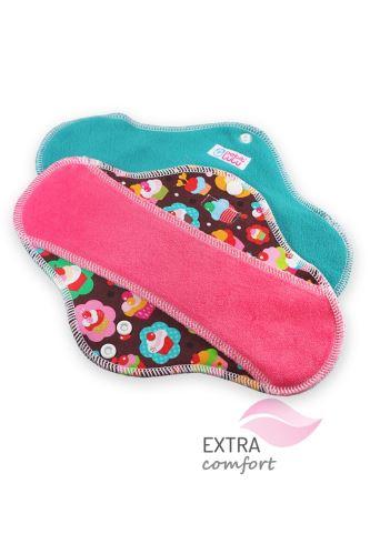 Cupcakes - Cloth pad ULTRA (SLIM)